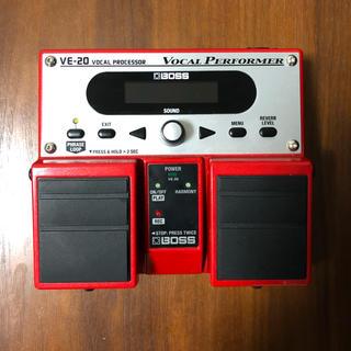 ボス(BOSS)のBOSS VE-20 ボーカルエフェクター(エフェクター)