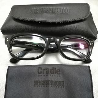 エフェクター(EFFECTOR)のNEIGHBORHOOD×EFFECTOR TRAMP トランプ  眼鏡 黒(サングラス/メガネ)