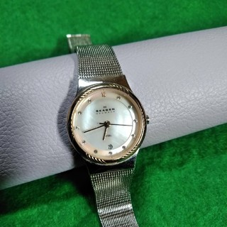 スカーゲン(SKAGEN)のSKAGEN レディースウォッチ 880SSSR 絶版 美品 (腕時計)