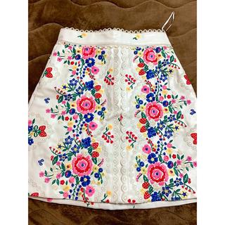 スレトシス(Sretsis)のスレトシス 刺繍スカート(ミニスカート)