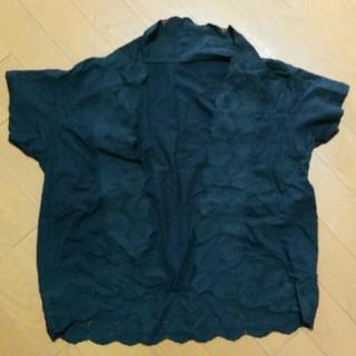 ムジルシリョウヒン(MUJI (無印良品))の無印良品 羽織り(ボレロ)