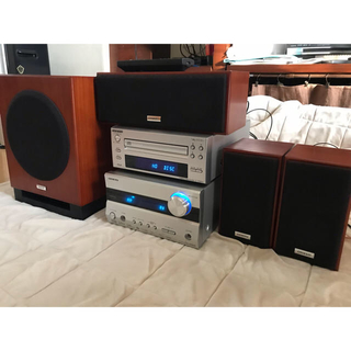 ONKYO - ONKYO 3.1chホームシアターシステム+CDプレイヤーセット