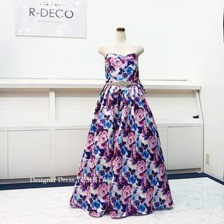 ウエディングドレス(パニエなし) 二次会/披露宴 大きなサイズのドレスです(ウェディングドレス)