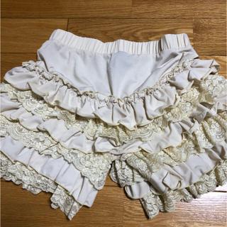 オッズオン(OZZON)のOZZ ONESTE キュロットスカート、インナーパンツ(ミニスカート)