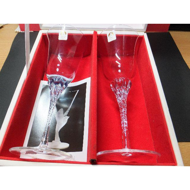 東洋佐々木ガラス(トウヨウササキガラス)のP666様専用 佐々木クリスタルのペアーグラス インテリア/住まい/日用品のキッチン/食器(グラス/カップ)の商品写真