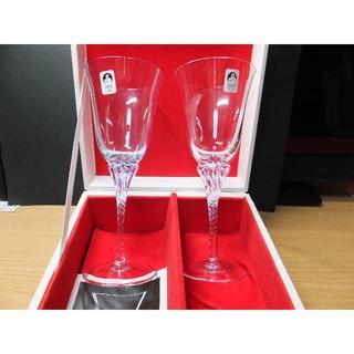 トウヨウササキガラス(東洋佐々木ガラス)のP666様専用 佐々木クリスタルのペアーグラス(グラス/カップ)