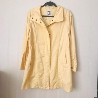 ミッシェルクラン(MICHEL KLEIN)のMICHEL KLEIN 黄色 スプリングコート ♡ ミシェルクラン コート(スプリングコート)