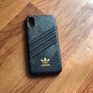 アディダス(adidas)のアディダスケースiPhoneX(iPhoneケース)