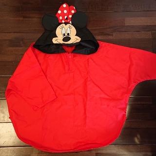 ディズニー(Disney)のミニーちゃん レインコートポンチョ(レインコート)