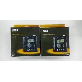 コルグ(KORG)のKORG KDM-2 電子メトロノーム 2個セット 新品未使用(その他)