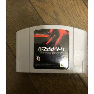 ニンテンドウ64(NINTENDO 64)のニンテンドー 64 パーフェクトダーク(家庭用ゲームソフト)