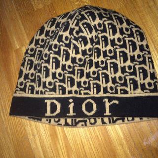 ディオール(Dior)のディオール♡ニットキャップ(ニット帽/ビーニー)