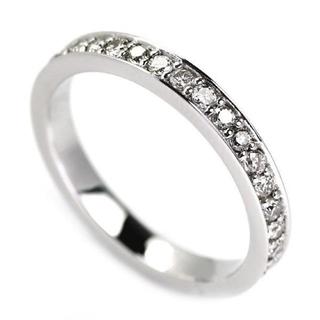 ☆PT900フルエタ0.50ct ダイヤモンドリング9号☆(リング(指輪))
