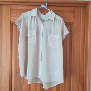ジーユー(GU)の夏服ブラウス 襟付きシャツ(シャツ/ブラウス(半袖/袖なし))