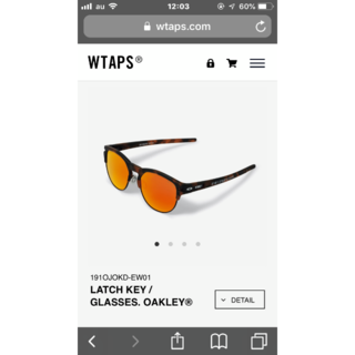 ダブルタップス(W)taps)のwtaps._オークリーサングラス(サングラス/メガネ)