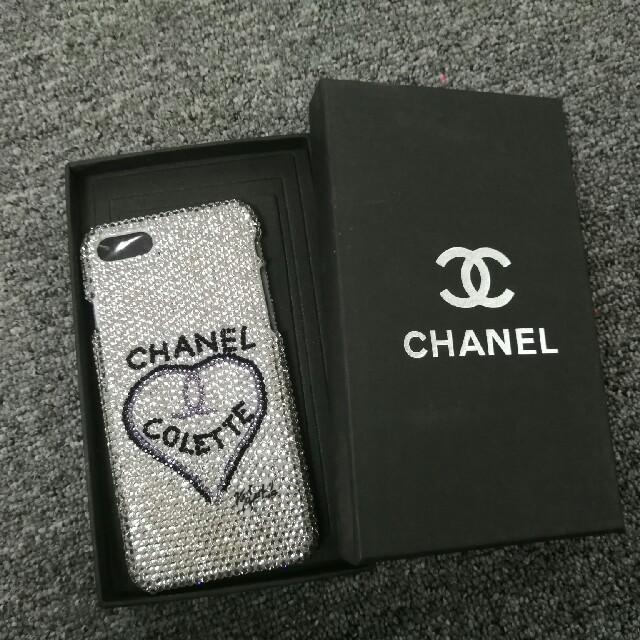iphone7 ケース 布 | CHANELシャネルiPhone6Sケースの通販 by トマしゅう's shop|ラクマ