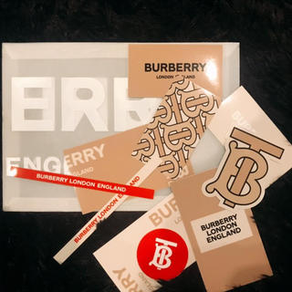 バーバリー(BURBERRY)のバーバリー 2019 リカルド ステッカー (ノベルティグッズ)