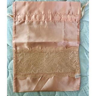 ブラデリスニューヨーク(BRADELIS New York)のランジェリー入れ巾着 ピンク(旅行用品)