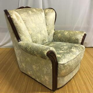 カリモクカグ(カリモク家具)の【カリモク】肘掛椅子UP5010TQ ('96年製造)(一人掛けソファ)