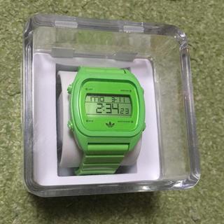 アディダス(adidas)のadidas originals デジタルウォッチ 緑 グリーン(腕時計(デジタル))