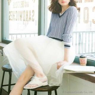 デイジークレア(DazyClair)のデイジークレア♡オーガンジースカート(ひざ丈スカート)