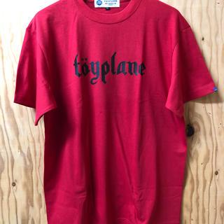 トイプレーン(TOYPLANE)のTOYPLANE Tシャツ 赤 サイズ L(Tシャツ/カットソー(半袖/袖なし))