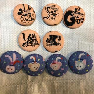 ディズニー(Disney)の2つ選んで300円  くるみボタン ディズニー(ヘアアクセサリー)