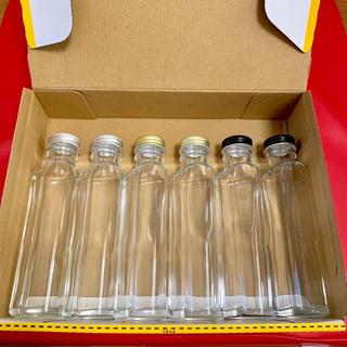 ハーバリウム 瓶  ハートボトル100ml  6本セット(その他)