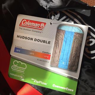 コールマン(Coleman)のコールマン Coleman HUDSON DOUBLE 寝袋のケースのみ 美品(寝袋/寝具)