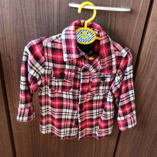 シマムラ(しまむら)のチェックシャツ 80(シャツ/カットソー)
