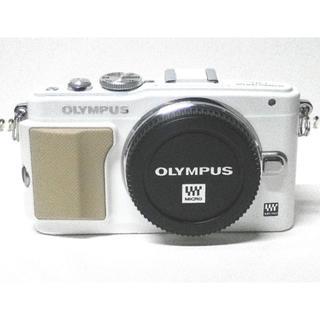 オリンパス(OLYMPUS)のOLYMPUS オリンパス E-PL5ホワイト●ボディ 中古美品 実働品 取り置(ミラーレス一眼)