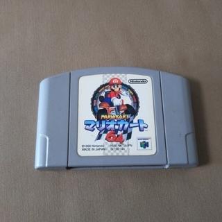 ニンテンドウ64(NINTENDO 64)の任天堂64 マリオカート(家庭用ゲームソフト)