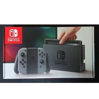 ニンテンドースイッチ(Nintendo Switch)の新品未開封 ニンテンドー スイッチ グレー(家庭用ゲーム本体)