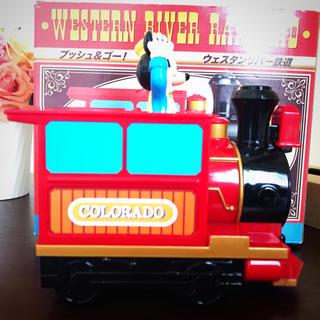 ディズニー(Disney)のディズニー ウェスタンリバー鉄道 プッシュ&ゴー 未使用(電車のおもちゃ/車)