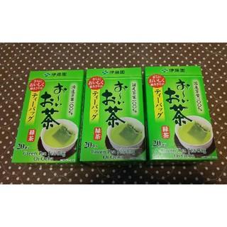 イトウエン(伊藤園)のおーいお茶 ティーバッグ  3箱(茶)