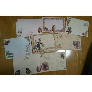 ディズニー(Disney)のDisney マリーちゃんレター封筒各2枚×8種(+おまけ付き)(カード/レター/ラッピング)