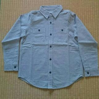 ジーユー(GU)のGU 綿シャツ 130(ブラウス)