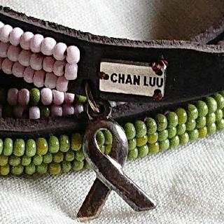 チャンルー(CHAN LUU)のチャンルーレザーブレスレット(ブレスレット/バングル)