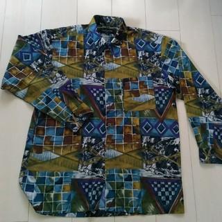ギラロッシュ(Guy Laroche)の激安!メンズ長袖柄シャツ ギラロッシュGuy Laroche(Tシャツ/カットソー(七分/長袖))