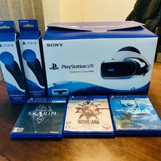 プレイステーションヴィーアール(PlayStation VR)のPlayStation VRセット(家庭用ゲーム機本体)