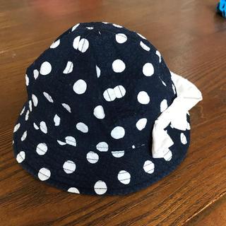 シマムラ(しまむら)のベビー帽子 44㎝(帽子)