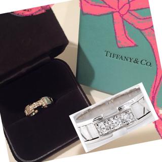 ティファニー(Tiffany & Co.)の新品❤️ティファニーダイヤアトラスリング(リング(指輪))