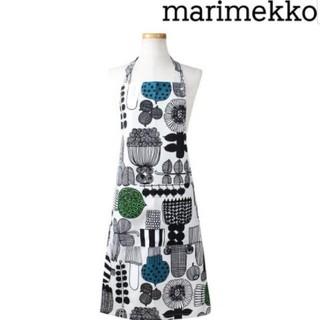 マリメッコ(marimekko)のマリメッコ    プータルフリン パルハート エプロン  ホワイト  (その他)