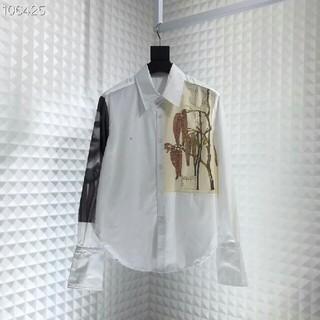 ロエベ(LOEWE)の極美品 本物 LOE 長袖シャツ サイズM(シャツ)