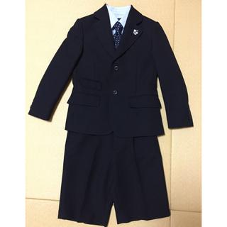 ヒロミチナカノ(HIROMICHI NAKANO)のヒロミチ ナカノ 男の子 スーツ 入学 卒業 七五三 120cm(ドレス/フォーマル)