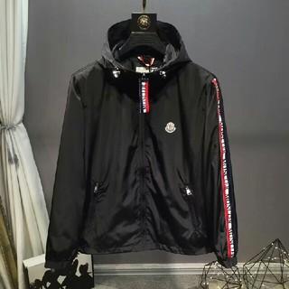MONCLER - Moncler   コート   ブラック フード   M