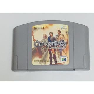 ニンテンドウ64(NINTENDO 64)のN64 オウガバトル64(家庭用ゲームソフト)