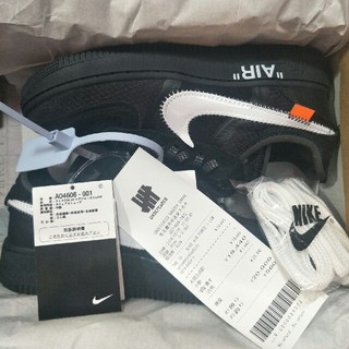 NIKE AIR FORCE 1 LOW OFF-WHITE 23.5cm
