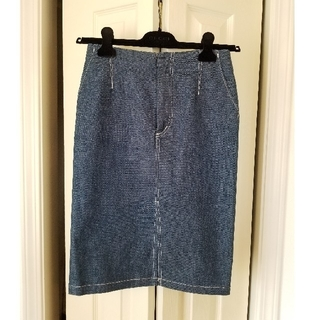 ルシェルブルー(LE CIEL BLEU)のLE CIEL BLEU ルシェルブルー デニム スカート(ひざ丈スカート)