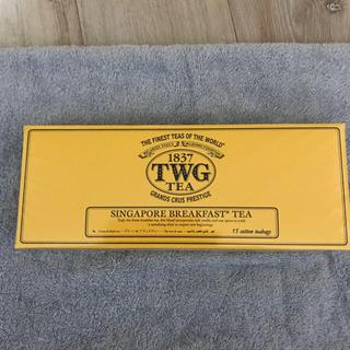 TWG紅茶 コットンティーバッグ 週末限定お値下げ 2000円→1800円(茶)